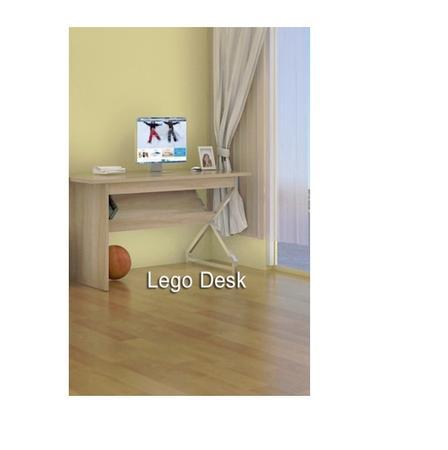 Lego Desk - Oak