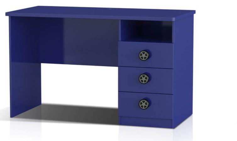 Racing Car Study Desk (Blue)