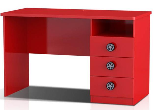 Racing Car Study Desk (Red)
