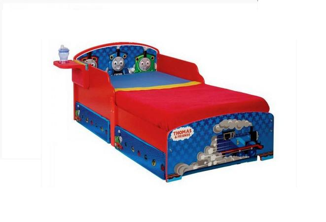 Thomas Toddler Bed - Storage and Shelf