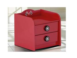 Car Bed Bedside Table (Red)