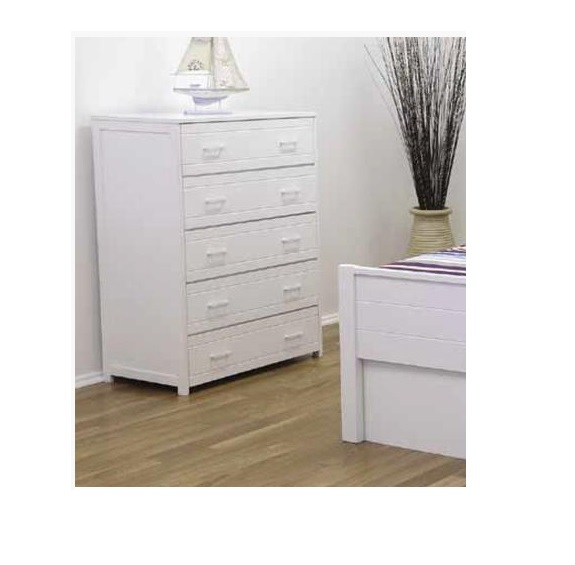 Cologne 5 Drawer Tallboy