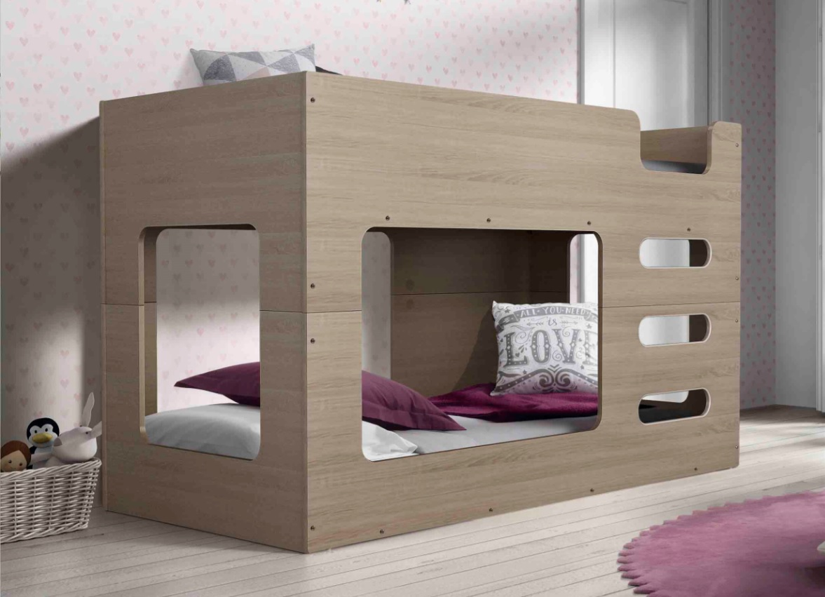 Cube Low line Bunk Bed (Single over Single)