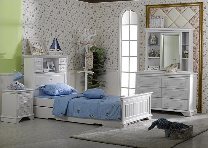 Da Vinci Bed & Trundle - (Single or King Single)