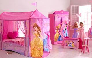 Disney Princess Feature Toddler Bed