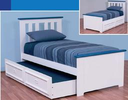 Federation Boys Bed with Trundle (Single)