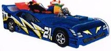Jazz Car Bed (Blue)