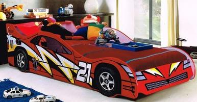 Jazz Car Bed (Red)