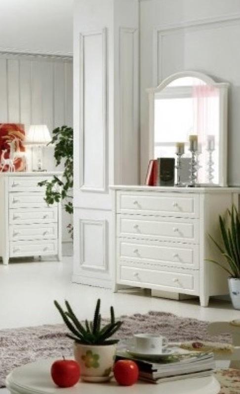 Melody iris Dresser & Mirror