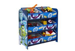 Monsters University 6 Bin Storage