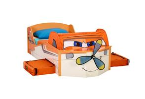 Plane Feature Toddler Bed