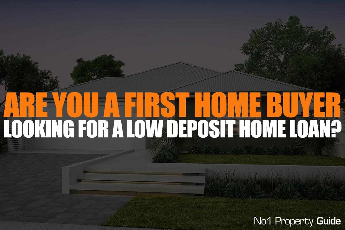 Are you a first home buyer looking for a low deposit home loan?