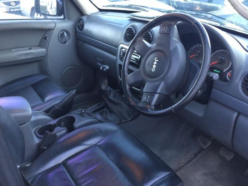 2006 Jeep Cherokee Jk sport manual 2.8L 4cyl turbo diesel