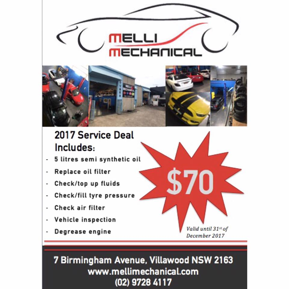 $70.00 Car Service Deal