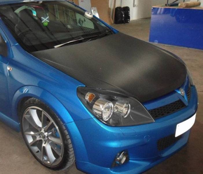 Bonnet wraps from $200 with glossy, matte or satin black.