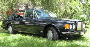 Chauffeur driven 1989 Bentley Turbo R from $650