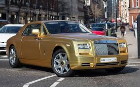 Gold Rolls Royce $590 Per Day