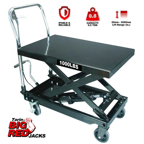 Torin TP05001 Big Red/1000 lbs. lift table $399.00