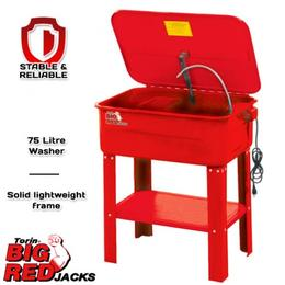 Torin TRG400120 Big Red Parts Washer 75 Litre $169