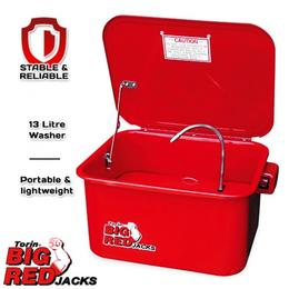 Torin TRG400135 Big Red Parts Washer 13 Litre $99.00