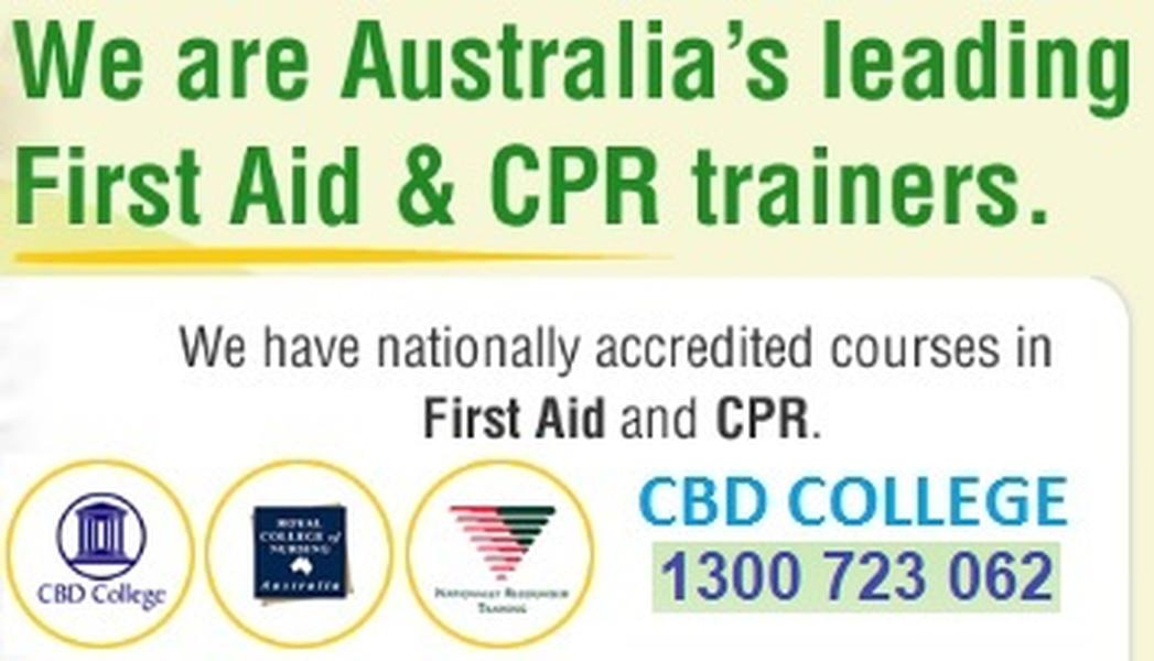 CBD College First Aid Training