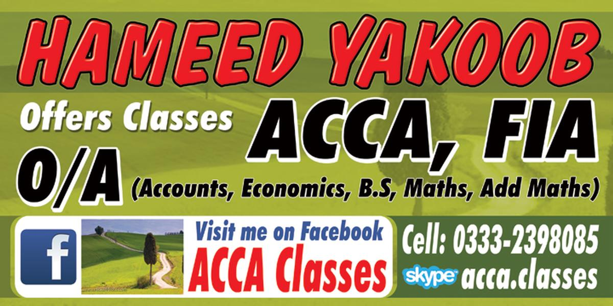 ACCA Classes