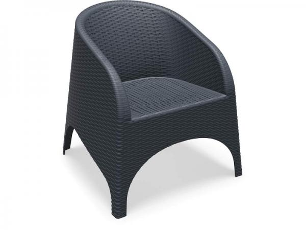 Aruba Chair Anthracite