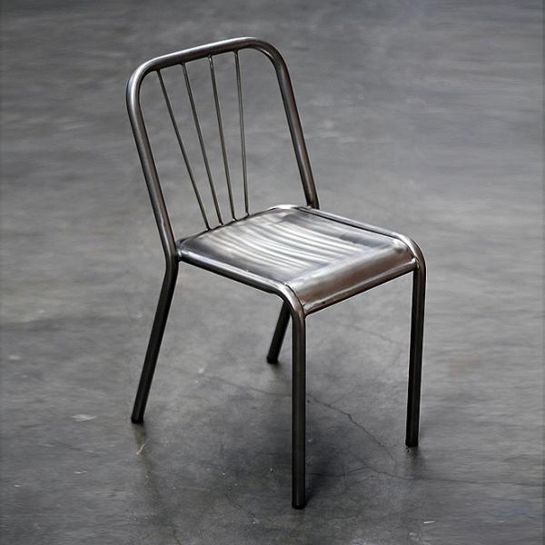 Gun Metal Chair