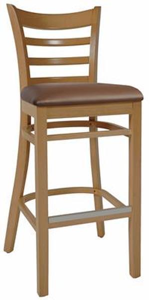Mustang stool light oak