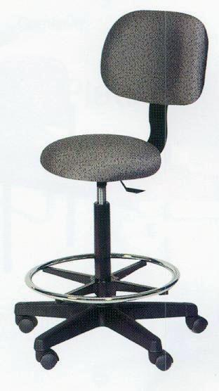 Operator Stool With Back