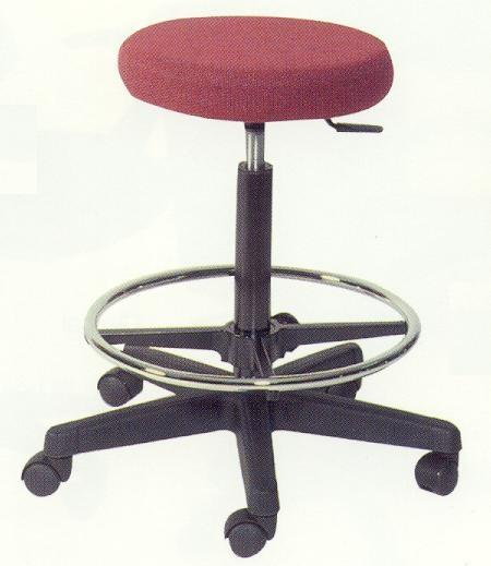 Operator Stool With Footring