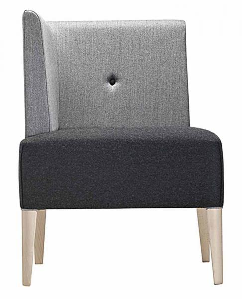 Punto Lounge Chair End Piece
