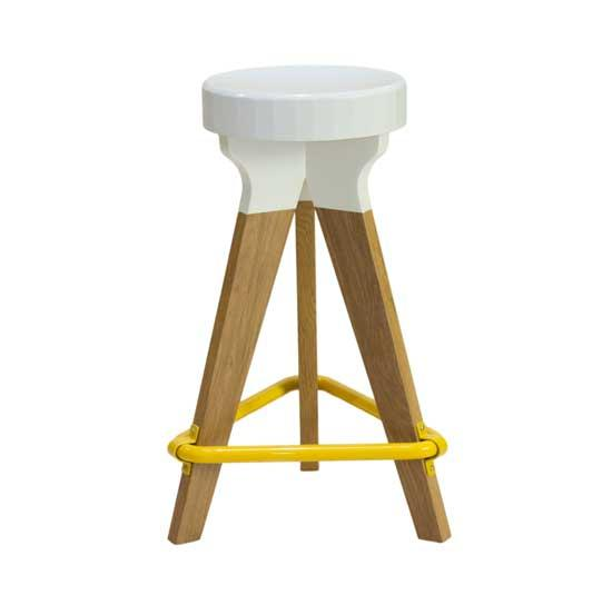 Pylon Stool Yellow