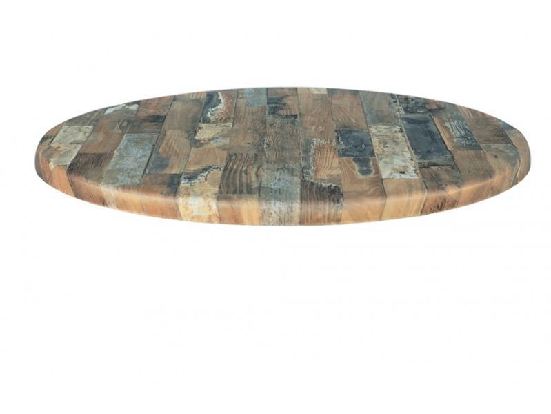 Resin Rustic blockwood