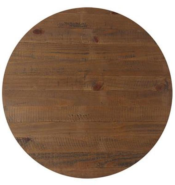 Rustic timber top 700 rd