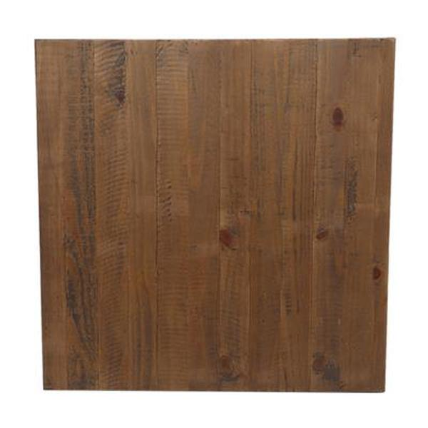 Rustic timber top sq