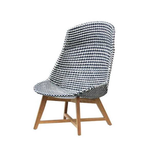 Skal high back chair