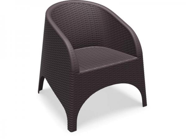 Aruba Chair Chocolate
