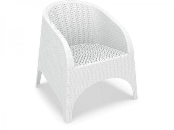 Aruba Chair White