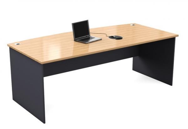 Bow Front Desk