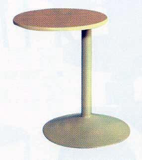 Oval Swivel Table