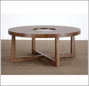 Retro Coffee Table Round