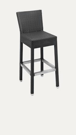 Santiago Stool With Back