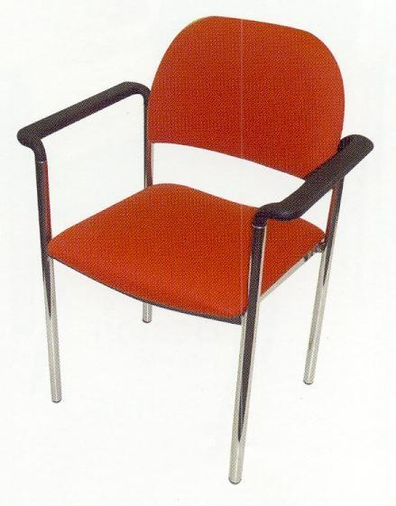Triest Chair With Straight Arms