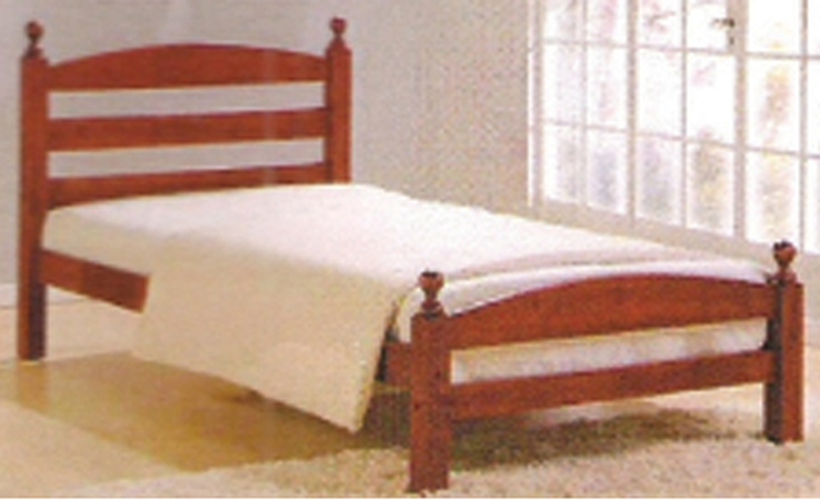 Cosmos Bed (Dirty Oak) Single