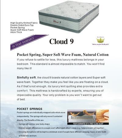 Cloud 9 Mattress - Single