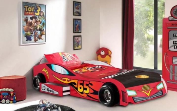 Indigo Racing Car Bed