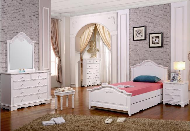 Melody Bed Frame (Single or King single)