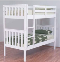 Jester Bunk Bed - White (Single)