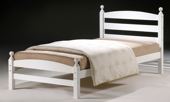 Cosmos Bed (White) Single